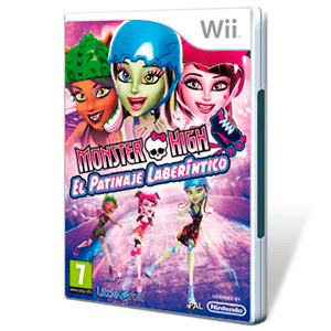 Monster High: El Patinaje Laberíntico