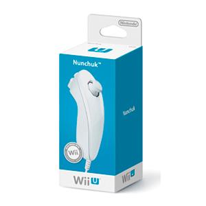 Mando Wii U Nunchako Blanco