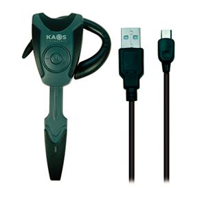 Auricular Bluetooth Negro Kaos