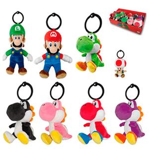 Peluche Super Mario Llavero varios modelos