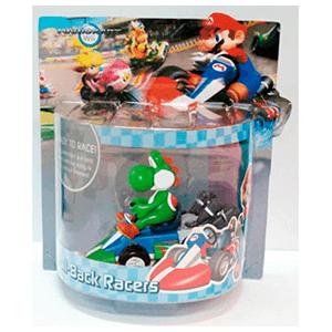 Mario Vehículo Retrofricción Yoshi 12cm