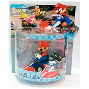 Mario Vehículo Retrofricción Mario 12cm