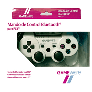 Mando de Control Bluetooth Blanco GAMEware