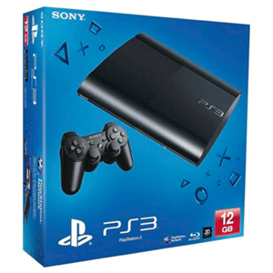 Playstation 3 Slim 12Gb Negra