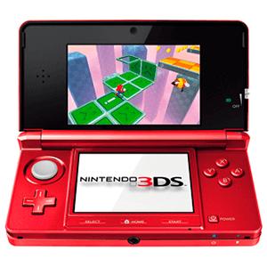 Nintendo 3DS Rojo Metalico