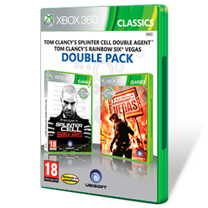 Pack Splinter Cell Doble Agente + Rainbow Six Vegas