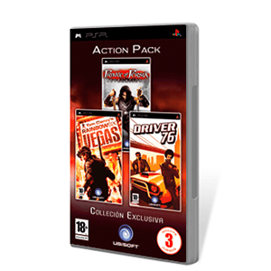 Pack Rainbow Six Vegas + Prince of Persia Revelations + Driver 76