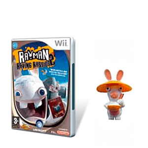 Rayman Raving Rabbids 2 + 1 toy