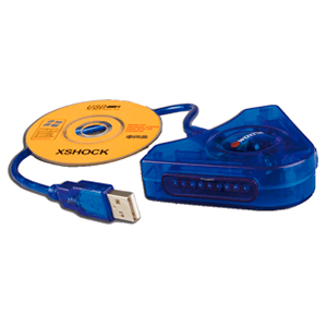Adaptador Mandos PS2 a PS3/PC Woxter