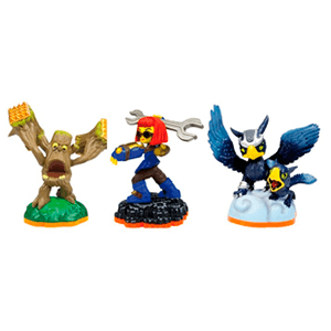 Skylanders Giants Triple Pack C: Sonic Boom + Sprocket + Stump Smash