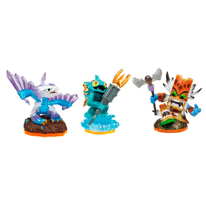 Skylanders Giants Triple Pack D: Gill Grunt + Flashwing + Double Trouble
