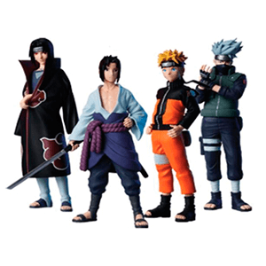 Pack Figuras Naruto Ultimate