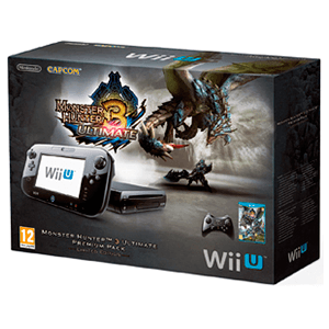 WiiU 32Gb Negra Monster Hunter 3 Ultimate
