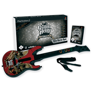 Guitar Hero: Metallica + Guitarra + Faceplate
