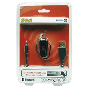 Headset Bluetooth Safari Chat Comm