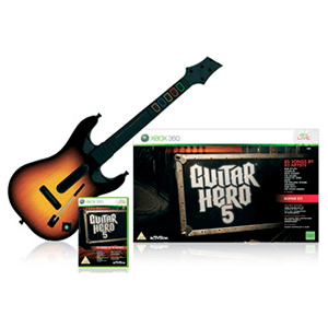 Guitar Hero 5 + Guitarra inalambrica
