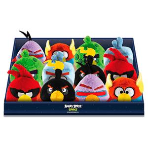 Peluche Sonido Angry Birds Space surtido 12cm