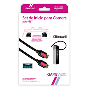 Set de Inicio Gamers PS3 GAMEware