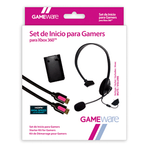Set de Inicio Gamers X360 GAMEware