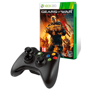 Gears of War: Judgment + Controller Inalambrico Microsoft Negro