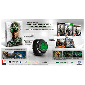 Splinter Cell: Black List Ultimatum Edition