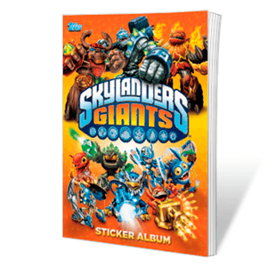 Album Stickers Skylander Giants + 29 stickers