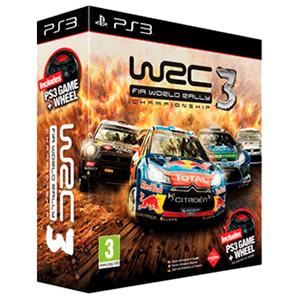 WRC 3 + Game Wheel