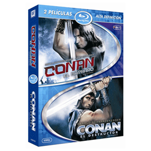 Pack Conan El Barbaro + Conan El Destructor