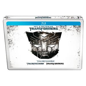 Trilogía Transformers Bluray Caja metálica