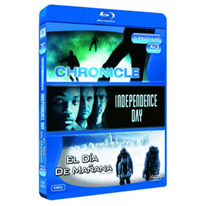 Pack Chronicle+Independence Day+El Dia De Mañana