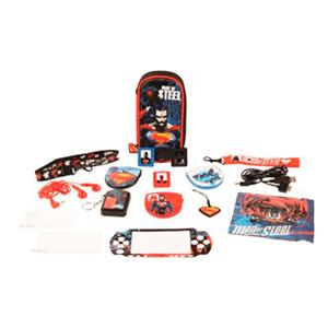 Kit Accesorios 16 en 1 Superman PSP/PSV