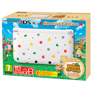 Nintendo 3DS XL + Animal Crossing: New Leaf (Preinstalado)
