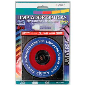 Limpiador Optico Universal CD-DVD-BRC Clener