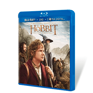 El Hobbit: Un Viaje Inesperado Bluray + DVD + Copia Digital