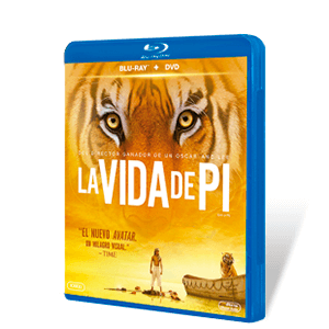 La Vida de Pi Bluray + DVD