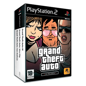 Pack GTA Trilogy (GTA 3, Vice City, S. Andreas)