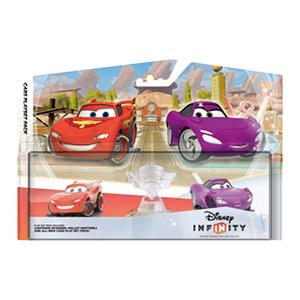 Set Infinity Cars: Mundo Cars + Rayo McQueen + Hollie