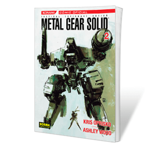 Metal Gear Solid 2 (Ashley Wood Y Kris Oprisko)
