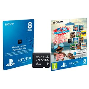 Tarjeta de Memoria 8 Gb + Pack 10 juegos