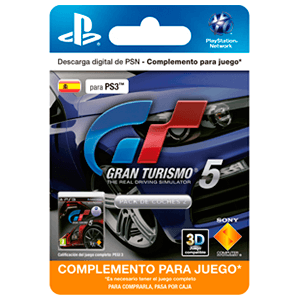 Gran Turismo 5 Car Pack 2 (Add-On)