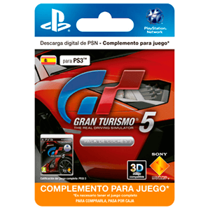 Gran Turismo 5 Car Pack 3 (Add-On)