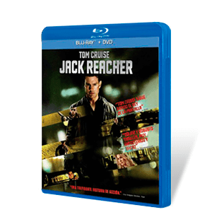 Jack Reacher Bluray + DVD