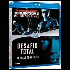 Pack Schwarzenegger (T2 + Desafío Total) (BD)