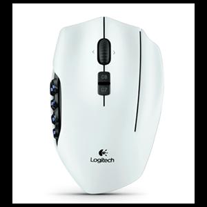 Logitech G600 MMO Blanco - Raton Gaming