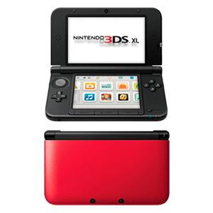 Nintendo 3DS XL Negra y Rojo