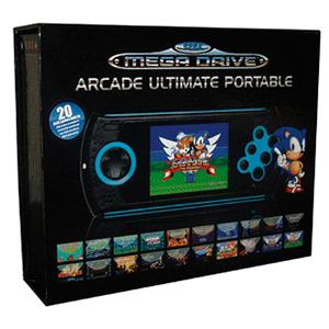 Mega Drive Arcade Ultimate Portatil + 20 Juegos