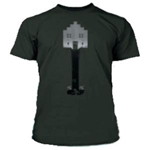 "Camiseta Minecraft ""Shovel"" Negra Talla M"
