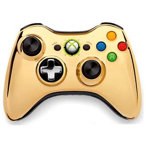 Controller Inalambrico Microsoft Chrome Gold