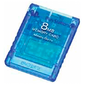 Memory Card Sony 8Mb Island Blue