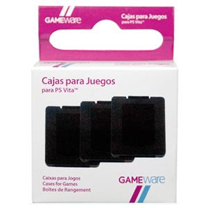 3 Cajas para Guardar Juegos de PSVita GAMEware